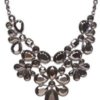 Midnight Glam Statement Necklace | Wet Seal