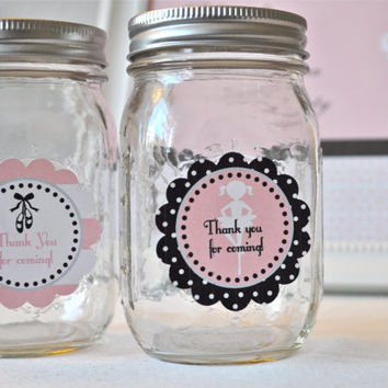 Ballet Party Printable Favor Tags: INSTANT DOWNLOAD
