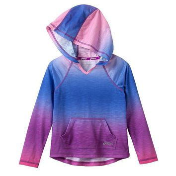 asics super fade hoodie girls  number 1