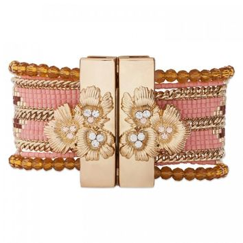 Hipanema Eternity Bracelet Pink