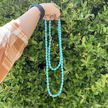 Egg Turquoise Necklace