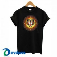 Angry Cat Embroidered Gucci T Shirt Women And Men Size S To 3XL