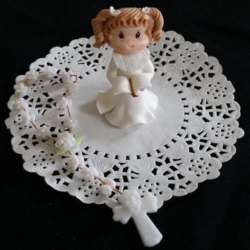 GirlsFirst Communion Favors, First Communion Cake Topper, Boy First Communion Cake Decorations, Baptism Cake Topper, First Communion Cake Topper, Baptism Favor Girls Boys