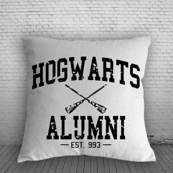 Hogwarts Alumni for Square Pillow Case 16x16 Two Sides, 18x18 Two Sides, 20x20 Two Sides