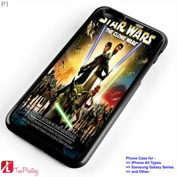 Star wars the clone wars - Personalized iPhone 7 Case, iPhone 6/6S Plus, 5 5S SE, 7S Plus, Samsung Galaxy S5 S6 S7 S8 Case, and Other