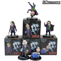 5pcs/set DC Comics Batman The Dark Knight The Joker Mini PVC Figures Collection Toy Model Doll CSCEB11
