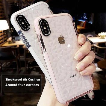 High Quality Soft Silicone Shockproof Cover Protector Case for Apple iPhone 7 Plus Xs Max XR 8 6 s 7Plus Coque Funda 360 Bumper