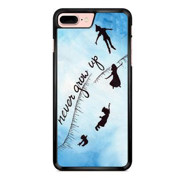 Peter Pan Never Grow Up 2 iPhone 7 Plus Case