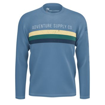 Men's Find Your Coast Adventure Supply Co. Sustainable Long Sleeve Knit Shirt
