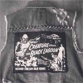 Creature from the Black Lagoon back patch