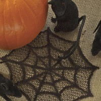 Spider Web 6 Inch Doily Set