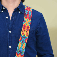 guitar strap, mexican straps, handmade straps, mexican coolture, mexican fashion, mexican design, acoustic guitar, electronic guitar, 19