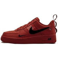 Nike Air Force 1 Low men's and women's wild casual low-top shoes red
