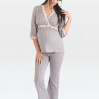 Dottie Maternity & Nursing Tunic and Lounge Pant
