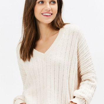 LA Hearts V-Neck Pullover Sweater | PacSun