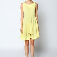 Asymmetrical A-Line Dress