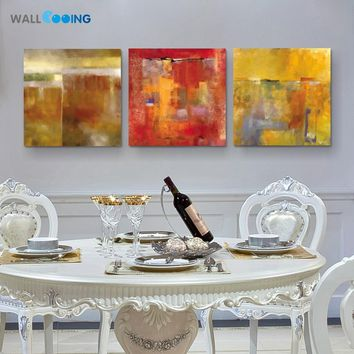 New hot 3 panel canvas painting abstract graffiti art print home paintings Modular pictures decoration wall art wall cooing