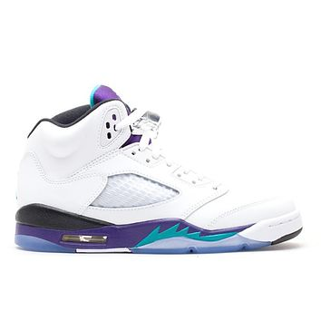 Air Jordan 5 Retro White Grape 2013