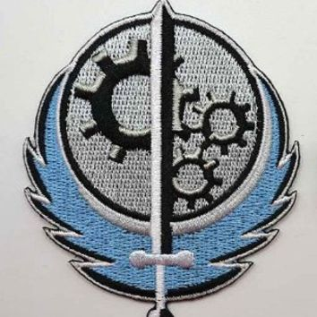 Patch Squad Men's Fallout Style Brotherhood of Steel BOS Patch Embroidered Patch