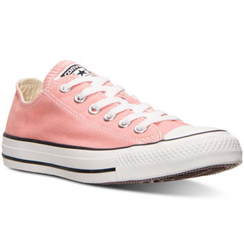 Converse Women's Chuck Taylor Ox Casual Sneakers from Finish Line - Finish Line Athletic Shoes - Shoes - Macy's