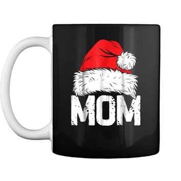 Mom Christmas Santa Family Matching Pajamas Mama PJs Mug