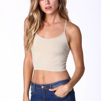 Kelly Seamless Cami Crop Top
