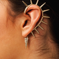 Sun-Child-Cuff-Earring GOLD - GoJane.com