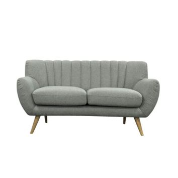 Lilly 2-Seater Sofa - Light Grey | Modern, Mid-Century & Scandinavian | GFURN
