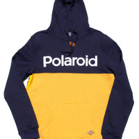 Altru Apparel Polaroid Colorblock Logo Hoodie