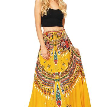 Desert Rose Maxi Skirt
