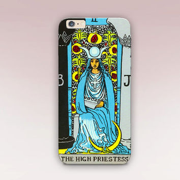 Tarot Card Phone Case For - iPhone 6 Case - iPhone 5 Case - iPhone 4 Case - Samsung S4 Case - iPhone 5C - Tough Case - Matte Case - Samsung