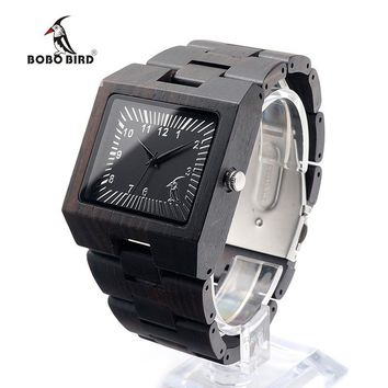 Black Sandal Wood Watch Analog Quartz Movement You will love the look. No two watches are alike