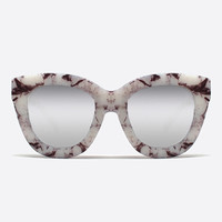 QUAY SUGAR AND SPICE MARBLE SUNGLASSES