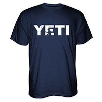Double Haul Casting T-Shirt in Navy by YETI