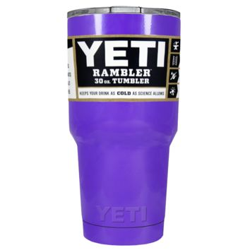 Promotional YETI 30 oz Purple Gloss Custom Tumbler