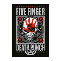 Five Finger Death Punch Poster Flag