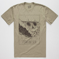 Roark Death Peak Mens T-Shirt Heather Green  In Sizes