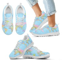 Kids Geography Globe Sneakers