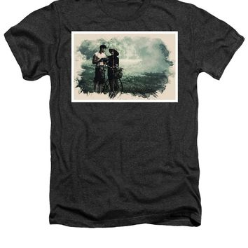Watercolor Conseptual Landscape - Deep In The Forest - Heathers T-Shirt