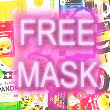 [ Free Sample Pack ] = full size masks x4 + samples x2