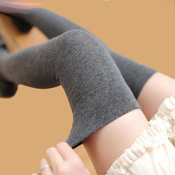 Thigh High Over The Knee Socks, Long Cotton Stockings,