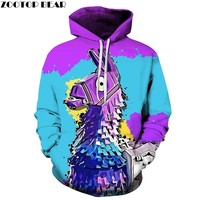 Color Hoodies 3D Men's Hoodie Print Streetwear Sweatshirt Pullover Casual Tracksuit Male Clothes Large Size DropShip ZOOTOP BEAR