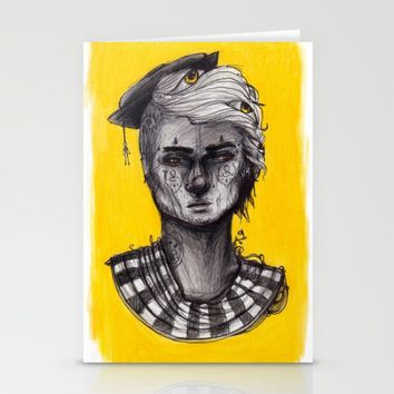 Seen in Yellow Stationery Cards by Ben Geiger