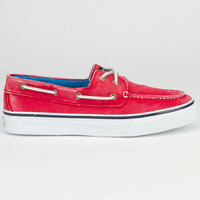 Sperry Top-Sider Bahama Mens Boat Shoes Salt Washed Red  In Sizes