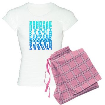 Super Junior Women's Light Pajamas on CafePress.com