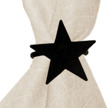 Star - Napkin Ring