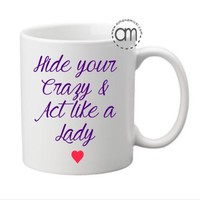 Miranda Lambert, Hide Your Crazy & Act Like a Lady, Simply Southern Gifts