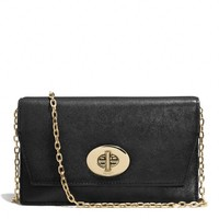 MADISON CROSSBODY CLUTCH WALLET IN LEATHER