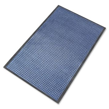 "A1HC Rub-Poly Multi Utility Indoor/Outdoor 31"" X 48"" Scraper Doormat (Blue)"