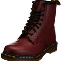 Dr. Martens 1460 Originals 8 Eye Lace Up Boot,Cherry Red Rouge Leather,8 UK (US Women's 10 M/US Men's 9 M)